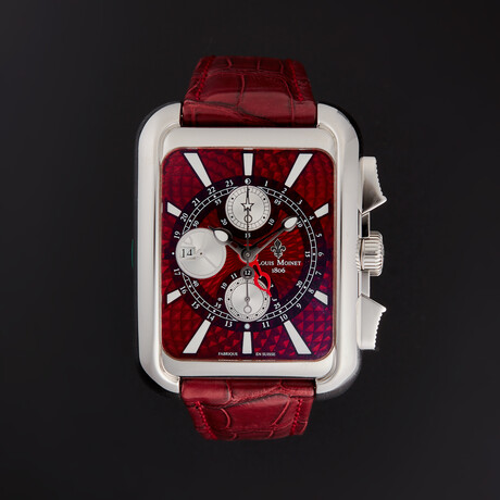 Louis Moinet Twin Tech GMT Automatic // LM-16.2.10.12 // Store Display