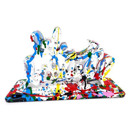 Mr. Brainwash // Life is Beautiful (Dipped White Splash) // 2020