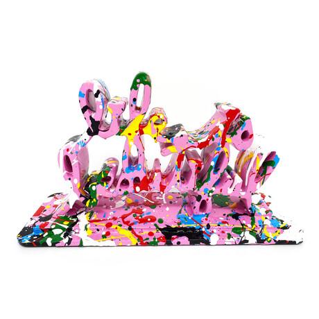 Mr. Brainwash // Life Is Beautiful (Dipped Bubblegum Splash) // 2020