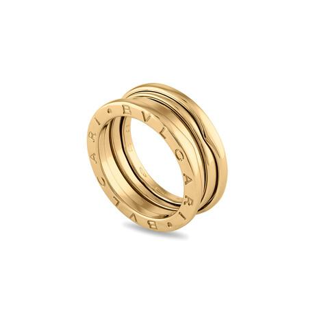 Bulgari // 18k Yellow Gold B.Zero1 Three Band Ring // Ring Size: 6 // Pre-Owned
