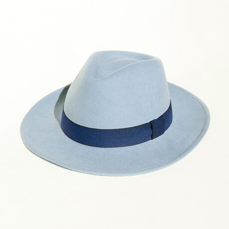 Houston // Light Blue + Fabric Headband (S)