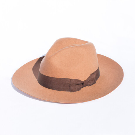 Rancher // Tobacco + Fabric Headband (S)