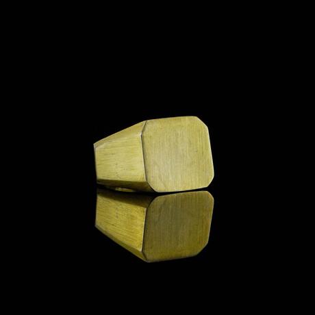 Matte Ring // Gold (5)