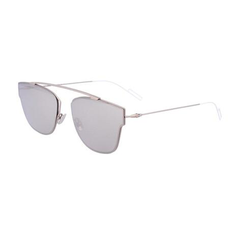 Men's DIOR0204FS Sunglasses // Light Gold + Silver