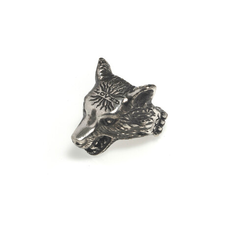 Gucci // Anger Forest Sterling Silver Wolf Ring // Ring Size 5.25 // Store Display