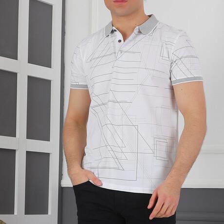 Gidich Polo Shirt // Dark Blue (Small)