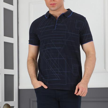 Gidich Polo Shirt // Dark Blue (Medium)