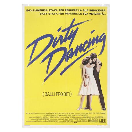 Dirty Dancing 1987 Italian Due Fogli Poster