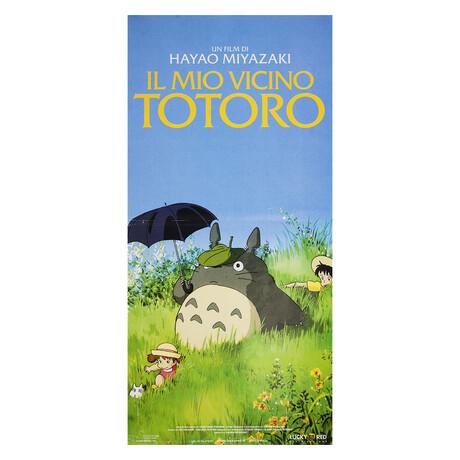 My Neighbor Totoro 2009 Italian Locandina Poster