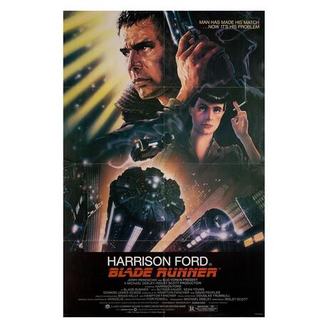 Blade Runner 1982 U.S. One Sheet Poster