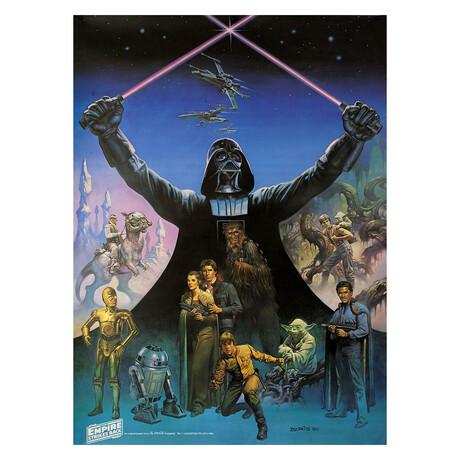 The Empire Strikes Back 1980 U.S. Poster // V3
