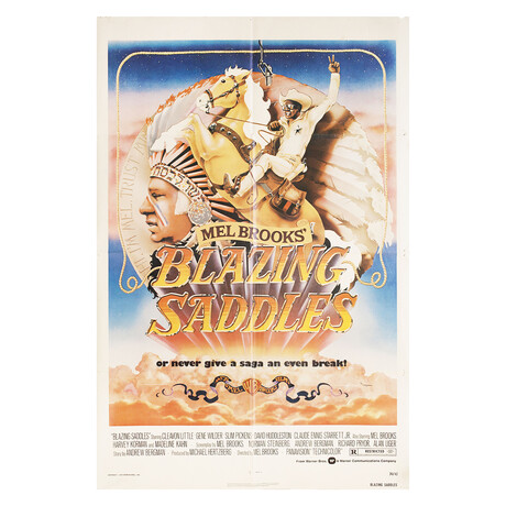Blazing Saddles 1974 U.S. One Sheet Poster