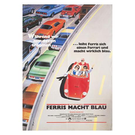 Ferris Bueller's Day Off 1986 German A1 Poster