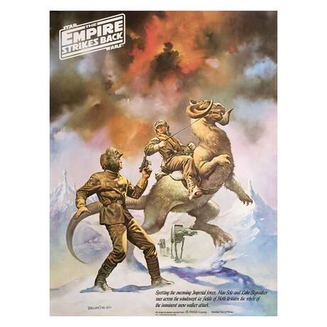 The Empire Strikes Back 1980 U.S. Poster // V2