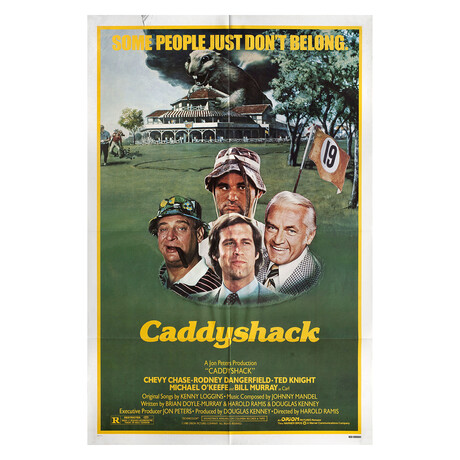Caddyshack 1980 U.S. One Sheet Poster