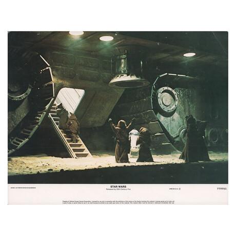 Star Wars 1977 U.S. Scene Card // V1