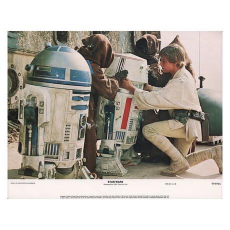 Star Wars 1977 U.S. Scene Card // V5
