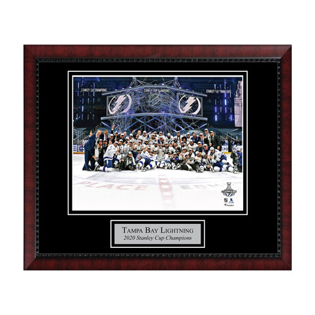 Tampa Bay Lightning // 2020 Stanley Cup // Framed + Unsigned