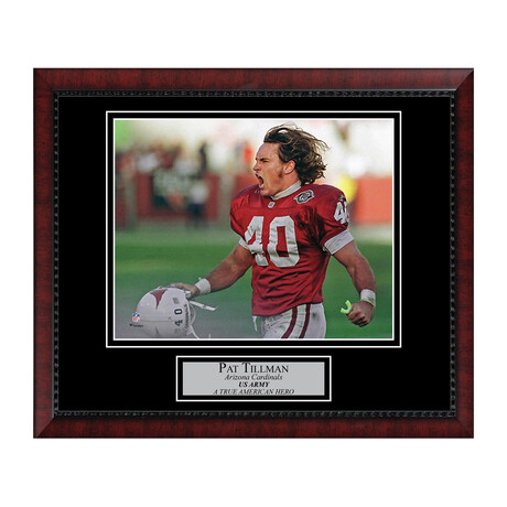 Pat Tillman // Framed + Unsigned // Arizona Cardinals