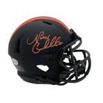 Nick Chubb // Signed Mini Helmet // Cleveland Browns