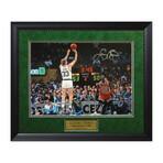Larry Bird // Framed + Signed // Boston Celtics