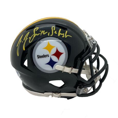 JuJu Smith- Schuster // Signed Mini Helmet // Pittsburgh Steelers