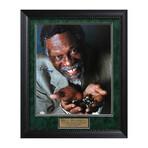 Bill Russell // Framed + Signed Photograph // Boston Celtics