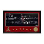 Michael Jordan // Framed + Signed // Chicago Bulls
