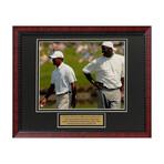 Tiger Woods & Michael Jordan // Framed + Unsigned Photograph