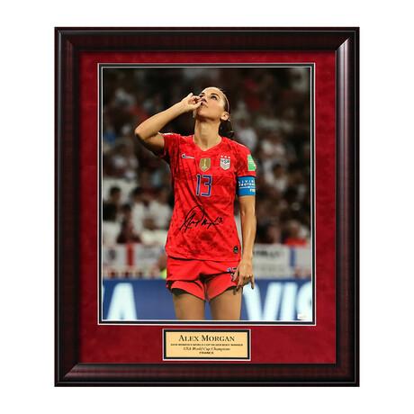 Alex Morgan // Framed + Signed // USA Soccer