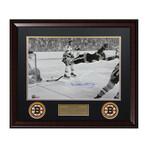 Bobby Orr // Framed + Signed // Boston Bruins