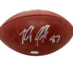 Rob Gronkowski // Signed Super Bowl Football // Tampa Bay Buccaneers