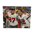 Rob Gronkowski // Signed Photograph // Tampa Bay Buccaneers