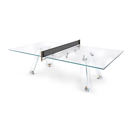 LUNGOLINEA Ping Pong Table // Gold Edition