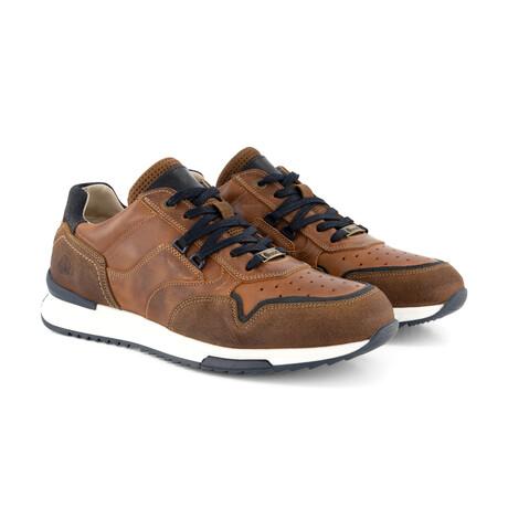 Mills Sneaker // Cognac (Men's Euro Size 40)