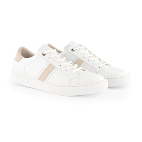 Renwick Vegan Sneaker // White (Men's Euro Size 40)