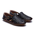 Holas Leather Sandals // Black (US: 9)