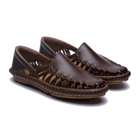 Titan Leather Sandals // Brown (US: 7)