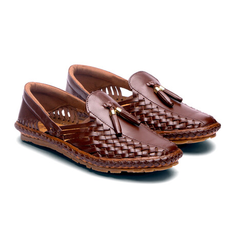 Chief Leather Sandals // Burnt Sienna (US: 7)