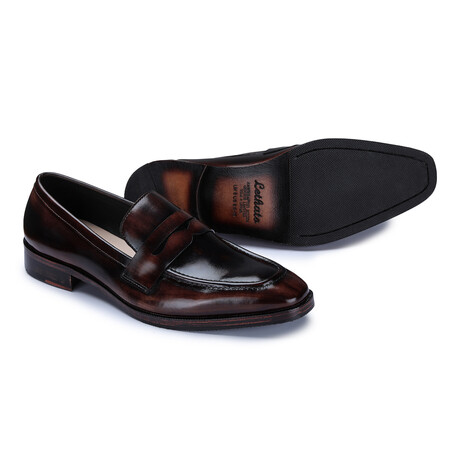 Penny Loafers // Brown (US: 8)