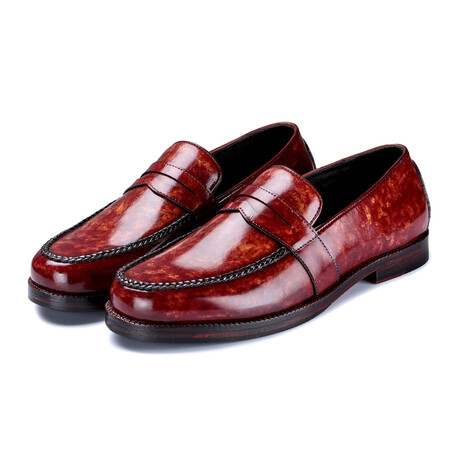 Penny Loafers // Reddish Brown (US: 8)