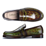 Penny Loafers // Green (US: 8)