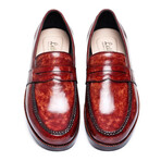 Penny Loafers // Reddish Brown (US: 9)