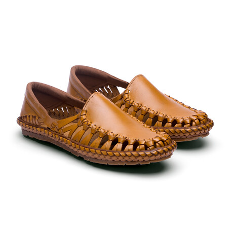 Titan Leather Sandals // Natural (US: 7)