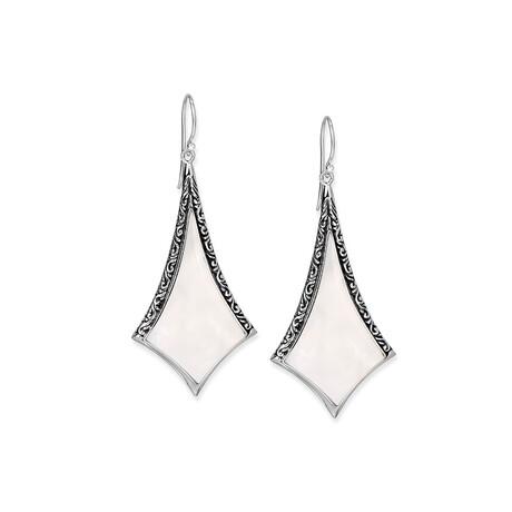 Women's Mother of Pearl Drop Earrings