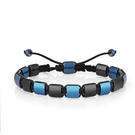 Macrame Bracelet // Navy Blue