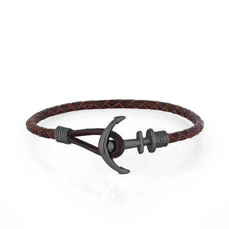 Anchor Bracelet // Smoke