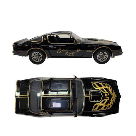 Smokey and the Bandit // Burt Reynolds // Autographed 1/18 Scale Firebird