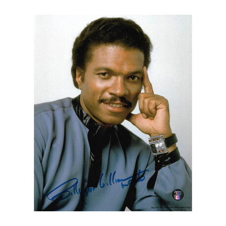Billy Dee Williams // Autographed 8X10 Photo
