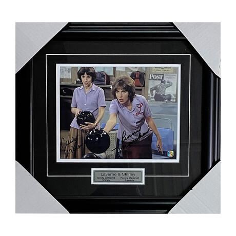 Laverne & Shirley // Framed Autographed Photo